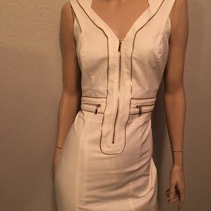 Bebe zipper dress. Size large